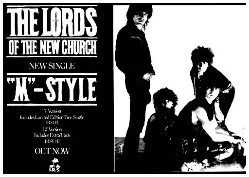 Lords Of The New Church The Lords Of The New Church